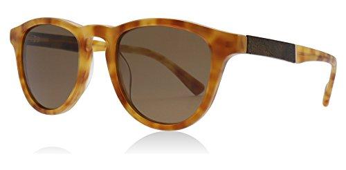 Cadre Shwood WAFAELB Femmes Brown Tortoise Brun Lens Lunettes de soleil ovale