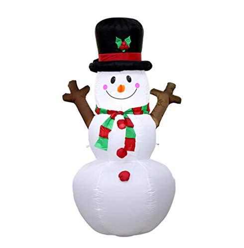 PZY Aufblasbares Baumuster des Weihnachten Selbstaufblasendes, Nette Aufblasbare Weihnachtsdekorationen Mit Der Gebläse-Weihnachtstagesdekoration, Passend Für Hof, Garten-Dekoration (Hof Aufblasbar Weihnachten Dekorationen)