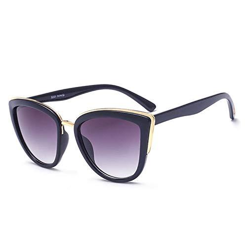 Sport-Sonnenbrillen, Vintage Sonnenbrillen, Cateye Sunglasses Women Luxury Brand Designer Vintage Gradient Glasses Retro Cat Eye Sun Glasses Female Eyewear UV400 as picture Leopard