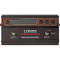 ROCKTRON CYBORG DISTORSION DISTORTION DIGITAL PROGRAMABLE PEDAL HUSH 64 PRESETS CONTROL INTEGRADO MIDI 8