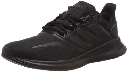 adidas Herren RUNFALCON Laufschuhe, Schwarz Core Black 0, 43 1/3 EU