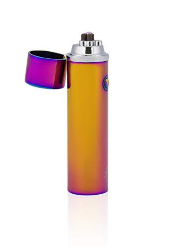 TESLA Lighter T02 | elektronisches USB Lichtbogen Feuerzeug Regenbogen