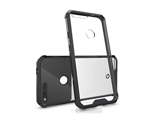Google Pixel XL Hülle, Cocomii Modern Armor NEW [Crystal Clarity] Premium HD Clear Anti-Scratch Shockproof Hard Bumper Shell [Slim Fit] Full Body Ultra Thin Lightweight Transparent Cover Case Schutzhülle (Black)