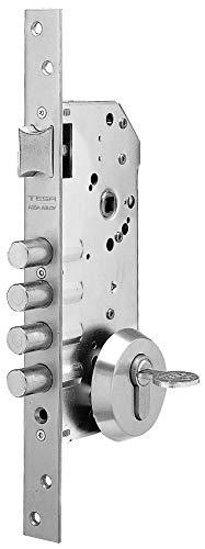 Tesa Assa Abloy 1 Cerradura Monopunto de Seguridad para Puertas de Mad