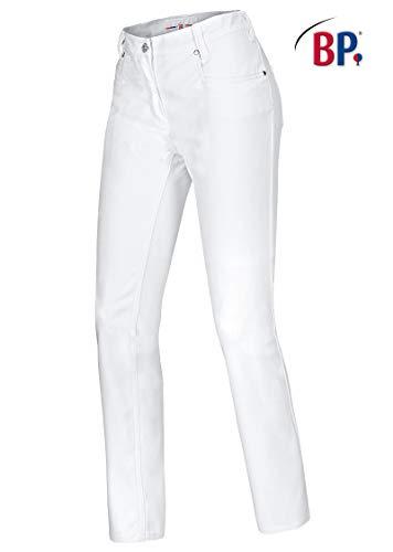 BP 1732 687 Damen Jeans aus Mischgewebe mit Stretchkomfort Weiß, Größe 28-32