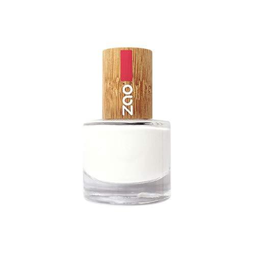Zao MakeUp - Vernis à ongles French blanc 641-8Ml - Vendu par pièce - Livraison Gratuit en France