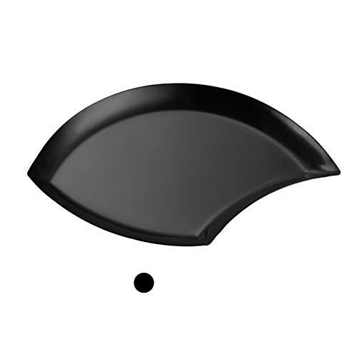 ZABB Blatt Metall Schmuck Ring Organizer Edelstahl Obst Ablageschale Platte Für Home Camping. Platte Oval Tray