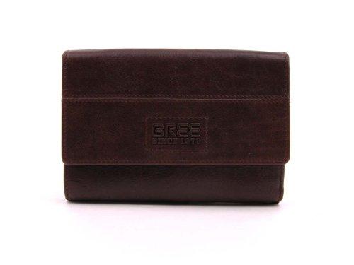 BREE portefeuille, birmingham 4 brun foncé