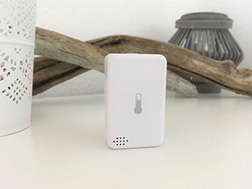 Centralite Smart Home Temperatur und Luftfeuchtigkeit Sensor (kompatibel mit QIVICON, SmartThings, Wink, Vera und ZigBee Plattformen)