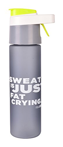 Fitkit Premium Sprayer Bottle Shaker (Grey/Green)