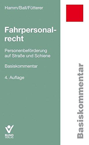Fahrpersonalrecht (Basiskommentare)