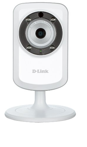 D-link-wireless-kamera (D-Link DCS-933L Überwachungskamera (Wireless N, mit WLAN Repeater, Tag und Nacht, Geräusch - und Bewegungserkennung, mydlink-App für iOS und Android) weiß)