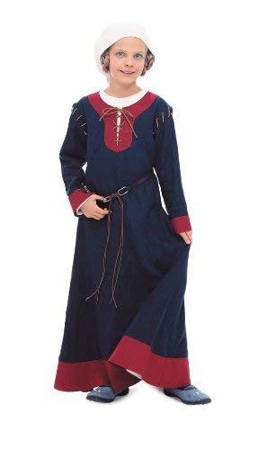 Mittelalterliche Haube Muster - Burda Schnittmuster 9473 Historisches Kinderkost?m, Kleid
