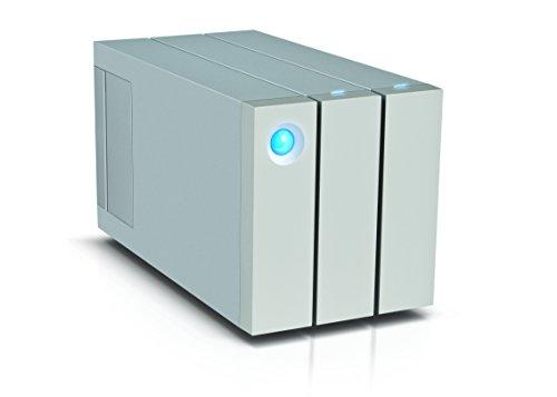 LaCie 2big Thunderbolt™ 2 - 8 TB  (2 Hot-Swap-fähige* Festplatten mit 7200 U/min), Raid 0 & Raid 1, 2 x Thunderbolt, USB 3.0 - LAC9000438EK