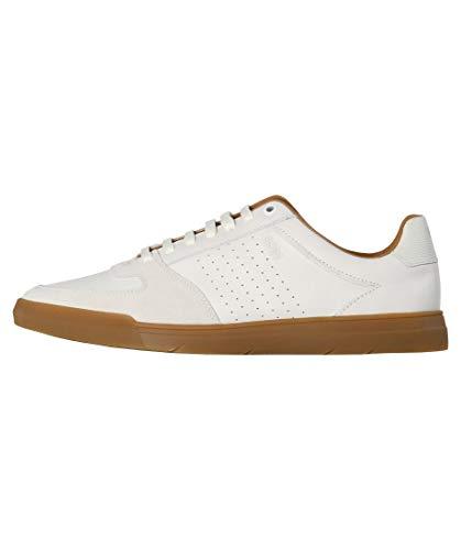 BOSS Herren Cosmo_Tenn_nasd Sneaker, Weiß (White 100), 41 EU