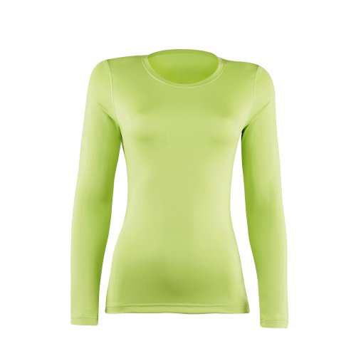 Rhino - T-shirt base layer à manches longues - Femme Rouge