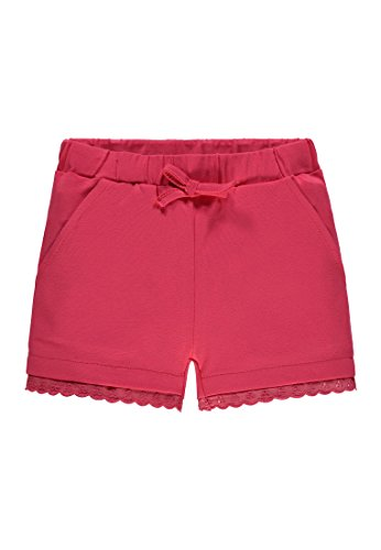 Steiff Collection Mädchen Shorts 6833335, Rot (Paradise Pink 2024), 92 (Shorts Für Rote Mädchen)