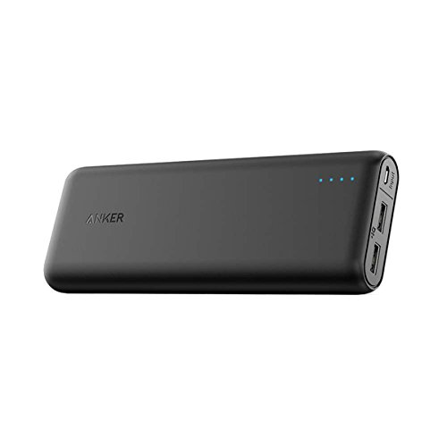 Anker PowerCore 20100 Power Bank with Ultra High Capacity , 4.8A Output, PowerIQ Technology for iPhone, iPad, Samsung Galaxy and More (Black)