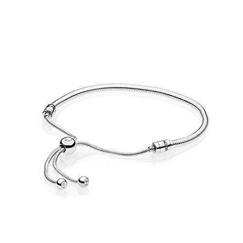 Pandora bracciale con charm donna argento - 597125cz2