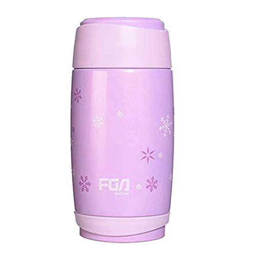 FEFEFEF Vakuum-Saugnapf tragbare Outdoor-Dichtigkeit aus Edelstahl Sport-Saugnapf-Saugflasche,Pink