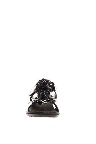 ENVAL softh Damen Pantoffel Boden Keilabsatz D El 15963schwarz Steckdosenleiste Boden Keilabsatz Schwarz