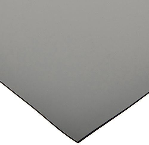Bertech ESD High Temperature Rubber Mat Roll, 2' Wide x 10' Long x 0. 08 Thick, Gray