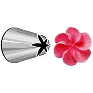 2D Wilton Flower Nozzle - Ideal for Piping Buttercream Rose Swirls