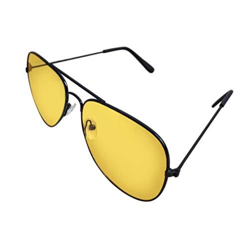 Candyboom Nachtsicht-Sonnenbrille Night Sight HD Driving Brille Anti-Glare UV400-Schutz Nacht Brillen für Männer Frauen