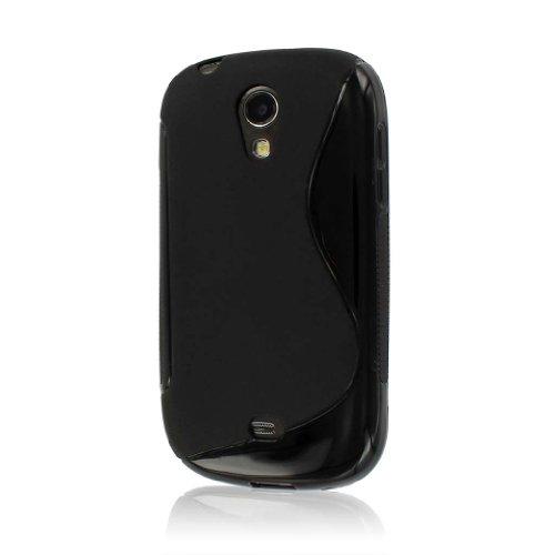 MPERO Flex S-Serie Schutzhülle für Samsung Galaxy Light T399-Schwarz (Für T399 Cover Samsung)