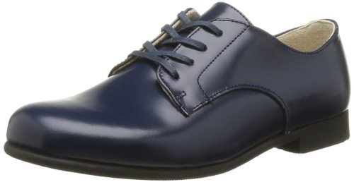 Start-Rite - John, Polacchine Unisex - Bambini, Blu (Bleu (Navy Leather)), 4 Child