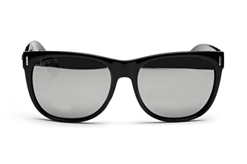 Catania Occhiali ® Polarised Sunglasses - Mens / Womens Wayfarer Style - Polarised Lenses with Case Included