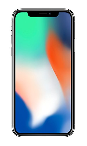 Apple iPhone X - Smartphone con Pantalla DE 14,7 cm, 256 GB, Plata
