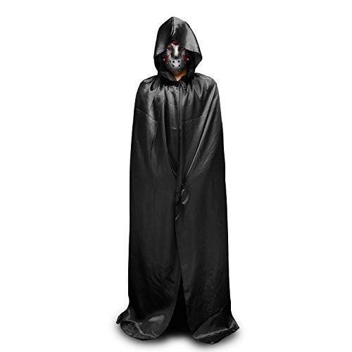 Halloween Kostüm Totengott Vampir Kostüm Halloween Umhang Halloween Erwachsener Unisex Cape Mit (Frauen Teufel Halloween Kostüme)