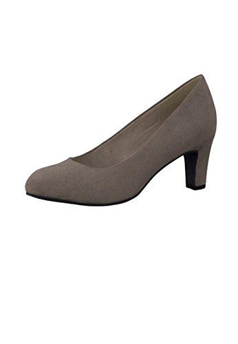 Tamaris Schuhe 1-1-22454-38 bequeme Damen Pumps, Sommerschuhe für modebewusste Frau, Pepper