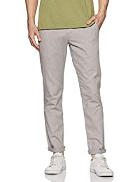Amazon Brand - Symbol Men's Straight Fit Regular Cotton Casual Trousers