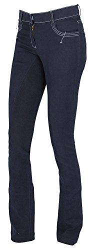 Covalliero Damen Cov.Reithose BasicPlus Jodhpur blau, Größe 46 Reithose,