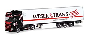 Herpa 309042 Scania CS HD KüKoSzg Weser-T, Color