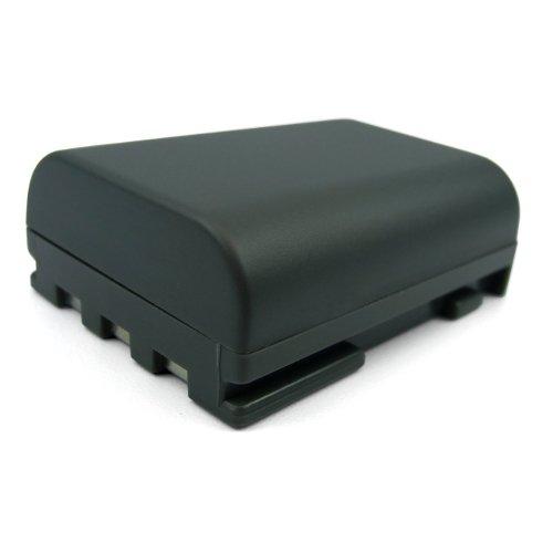 Akku für Canon NB-2L / NB-2LH / geeignet für Kameras der Canon Serien: PowerShot / Legria / Optura / MD / MVX / EOS 350D + 400D u.a. Elura Serie Camcorder