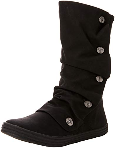 Blowfish Damen Rammish Langschaftstiefel, Schwarz (Black Texas PU 020), 38 EU - Stiefel Schuhe Blowfish