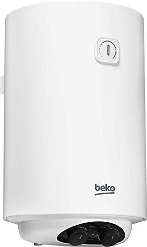 Beko BWH100EUC - Termo eléctrico / calentador, 100 litros, 2000 W, color blanco