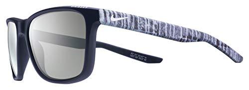 Nike Herren Sonnenbrille Unrest EV0922 SE 410 57, Grau (Mt Drk bs/Wht W/Gry)