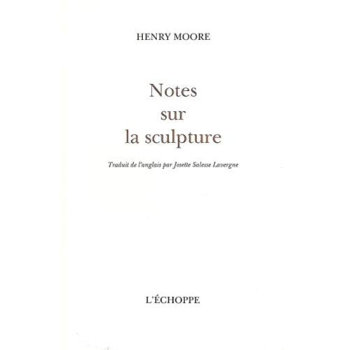 Notes sur la sculpture