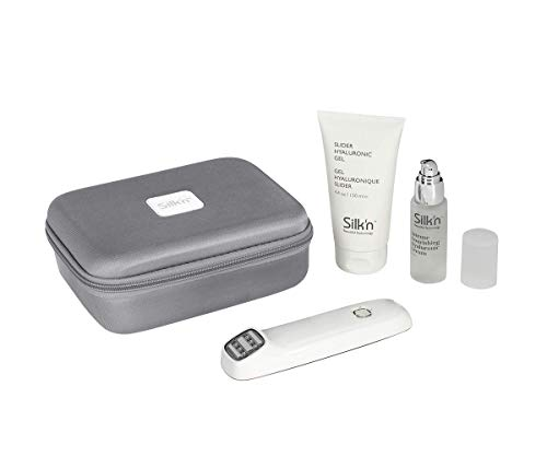 Silk'n Face Tite Anti-Aging-Gerät mit Hyaluronserum und Kontaktgel zur Faltenreduzierung und Hautstraffung
