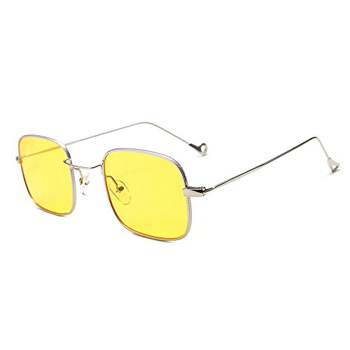 Battnot☀  Sonnenbrille für Damen Herren, Unisex Vintage Mode Quadrate Shades Acetat Rahmen UV Gläser Sonnenbrillen Männer Frauen Retro Billig Sunglasses Coole Women Fashion Travel Eyewear