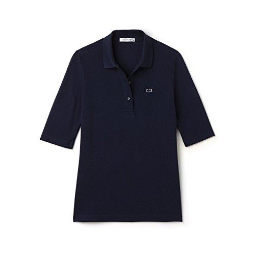 Lacoste Damen Poloshirt Halbarm Marine (52) 40