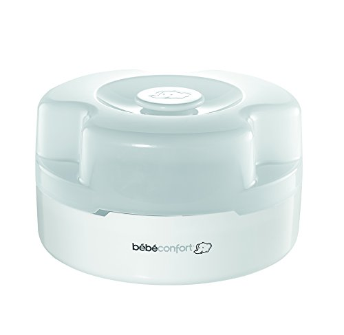 Bébé Confort Stérilisateur Biberons Express Micro-Ondes 3 en 1 Blanc
