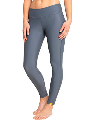 iQ-UV Damen hoher Bund Yoga Leggings, ash, M