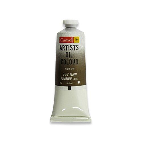 Camlin Kokuyo Artist Oil Colour 60 ml Series 1 Raw Umber