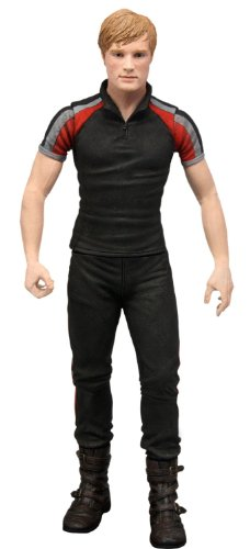 Neca - The Hunger Games, Serie 2: Peeta mit Anzug Training, 18 cm (Figur - The Hunger Games Kostüm Kinder