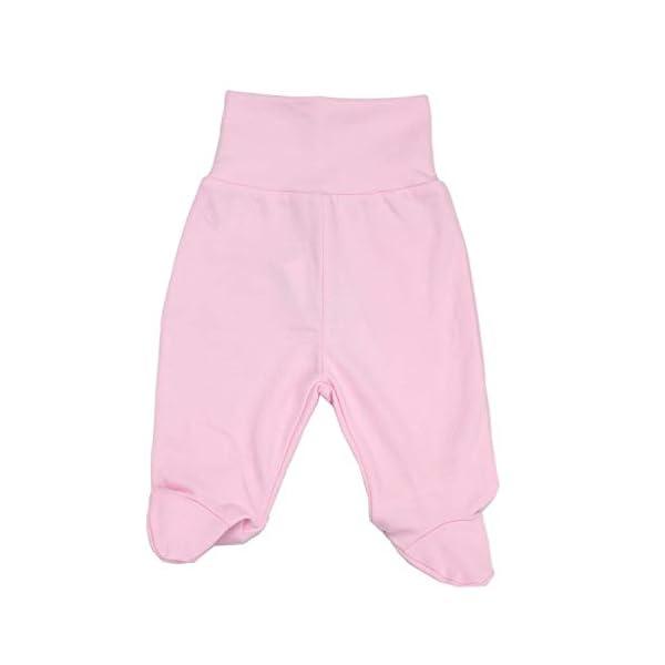 TupTam Pantalón con Pies de Bebé Paquete de 5 pies 4